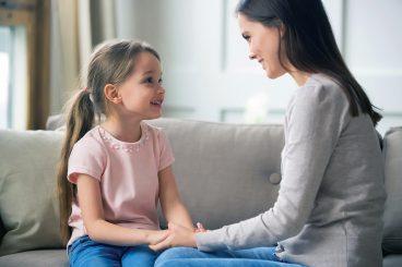 Pogovor med starši in otroki